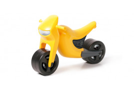 Lábbal hajtós kismotor BSPEED sárga Y200