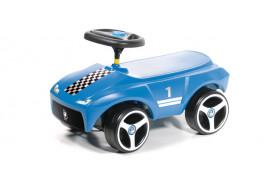 Lábbal hajtós kisautó BDRIF kék 3005U