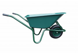 LIVEX 100l talicska, felfújható kerék, műanyag plató, teherbírás 100 kg