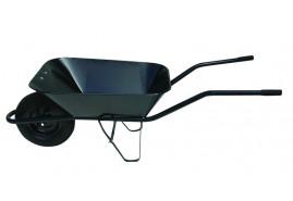 építkezési talicska 60, felfújható kerék, ponthegesztett plató, teherbírás 100 kg