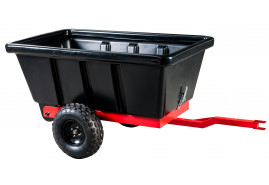 kétkerekű pótkocsi 500 l - műanyag teknő