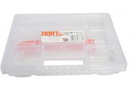 szerszámos doboz NORT08 átlátszó