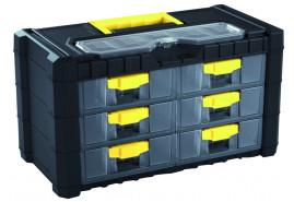 fiókos doboz Multicase NS 302, 400x200x260 mm