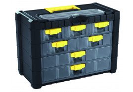 fiókos doboz Multicase NS 401, 400x200x360 mm