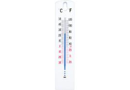 külső-belső  PVC hőmérő 43x200 mm