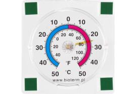 öntapadós külső hőmérő 77x77 mm