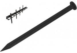 szegély rögzítő, 25 cm hosszú