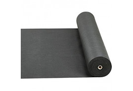 nem szőtt textília, 0,8 x 100m fekete 50g/m2 - tekercs