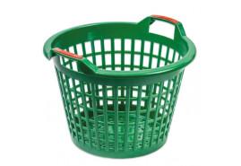 műanyag kosár 500mm, zöld