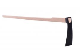 keskeny kapa, kovácsolt, nyéllel, 130 cm